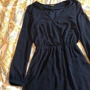 Express Dresses - Express Blue Dress